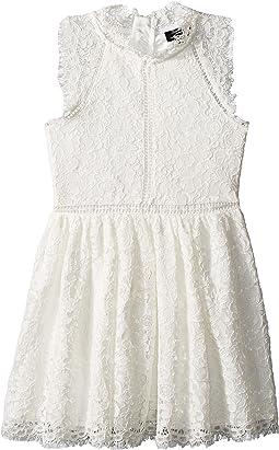 Lace Panel Dress (Big Kids)