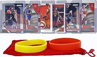 Atlanta Hawks Basketball Cards: John Collins, DeAndre Bembry, Taurean Prince, Kent Bazemore, Jeremy Lin, Dewayne Dedmon ASSORTED Basketball Trading Card and Wristbands Bundle