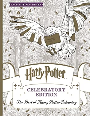 Harry Potter Celebratory Ed Colouring Bk