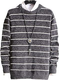 [ Smaids x Smile (スマイズ スマイル) ] セーター 長袖 丸首 ニット カットソー カジュアル 防寒 おしゃれ メンズ