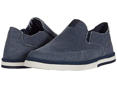 Rockport Austyn Slip-On (New Dress Blues Canvas) Men