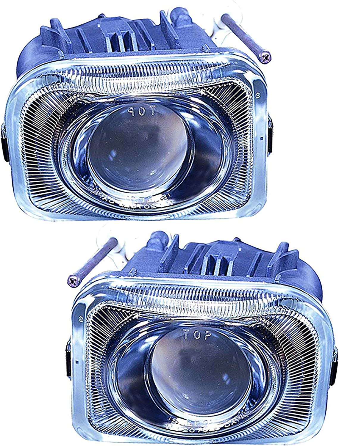 JP Auto San Diego Max 54% OFF Mall Front Fog Light Lamp 2003 Legacy Compatible Subaru With