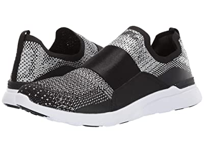 Athletic Propulsion Labs (APL) Techloom Bliss (Black/Metallic Silver/White) Men