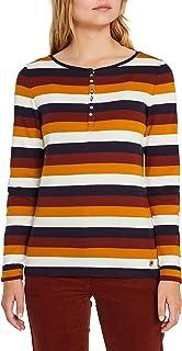 edc by Esprit dames shirt met lange mouwen 109CC1K027