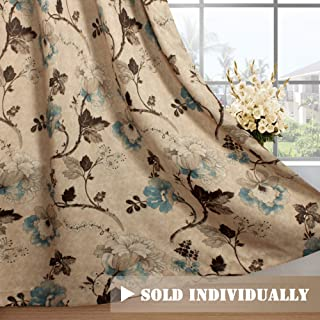 Best brown and teal kitchen curtains Reviews