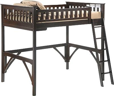Night & Day Furniture Ginger Loft, chocolate finish, Full