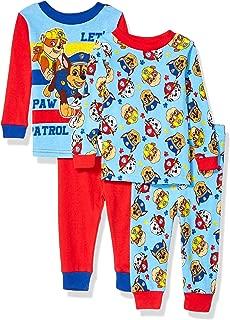Nickelodeon Baby Boys Paw Patrol 4-Piece Cotton Pajama Set