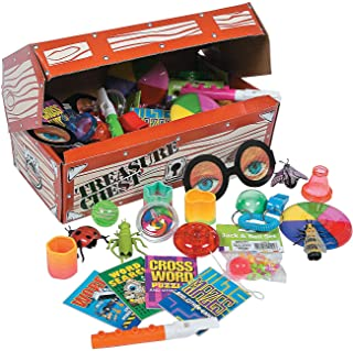 Fun Express - Deluxe Treasure Chest Toy Asst 50pc - Toys - Assortments - 50Pc Assortments - 51 Pieces