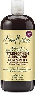 Shea Moisture Sheamoisture Jamaican Black Castor Oil Strengthen & Restore Shampoo, 16.3 Oz