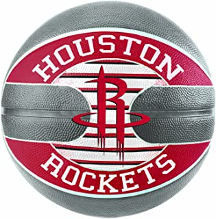 SPALDING 中性款 NBA 球队休斯顿火箭篮球, multi-coloured ,尺码7.0