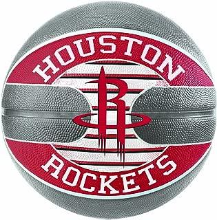 SPALDING 中性款 NBA 球隊休斯頓火箭籃球, multi-coloured ,尺碼7.0