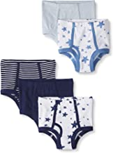 Moon and Back by Hanna Andersson Boys' 5-Pack Organic Cotton Classic Underwear