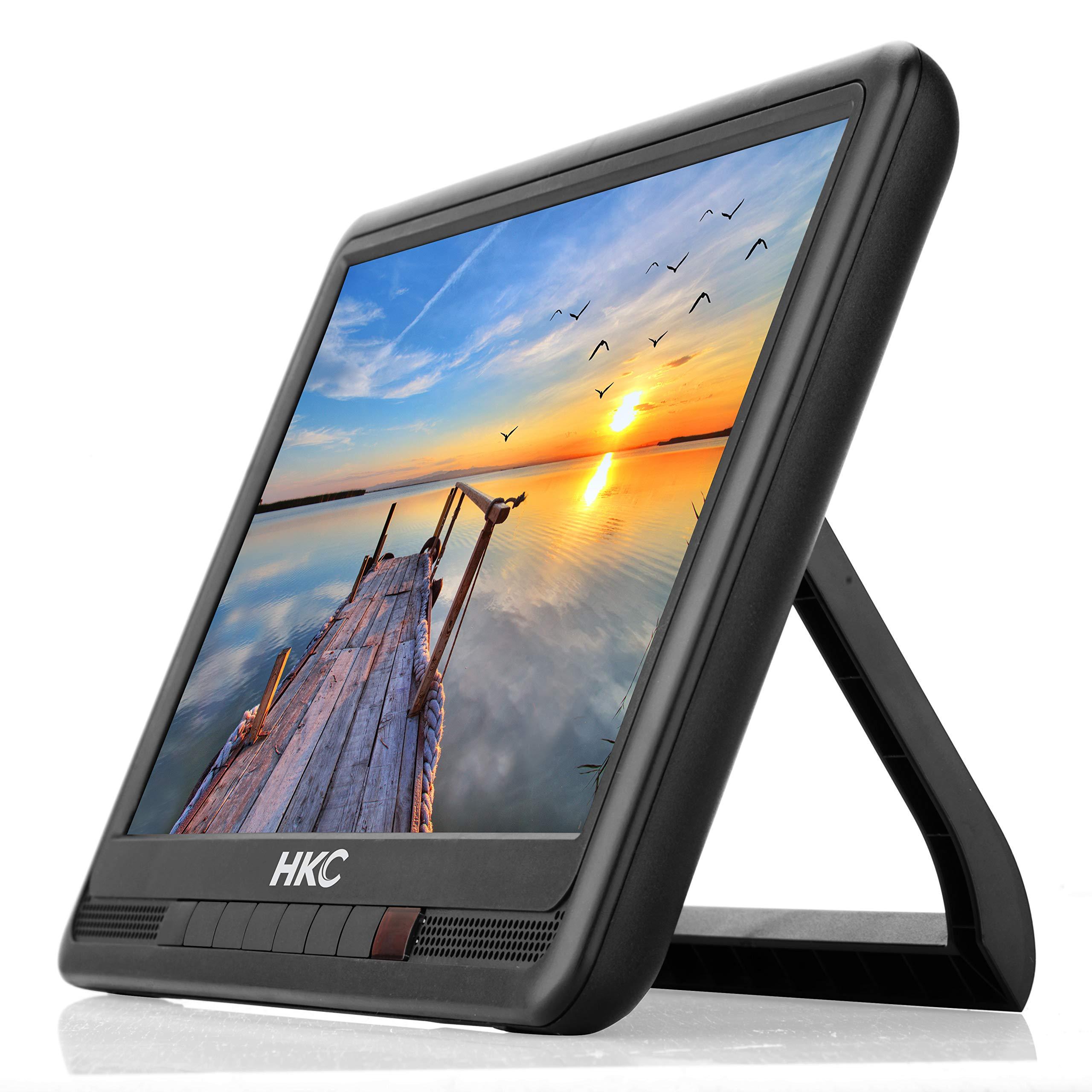 HKC P10H6 Mini TV portátil (TV HD de 10 Pulgadas) HDMI + USB, 60Hz, Reproductor Multimedia, batería incorporada, Cargador de Coche de 12 V, Antena portátil: Amazon.es: Electrónica