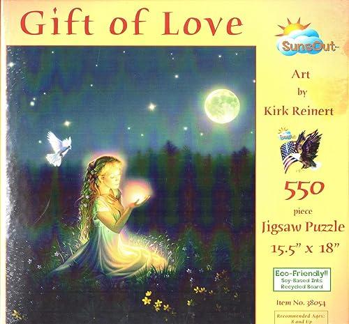 SunsOut 38054 - Reinert  Das Geschenk der Liebe - Puzzle 550 Teile