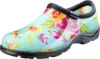 Sloggers Women's Waterproof  Rain and Garden Shoe with Comfort Insole, Pansy..