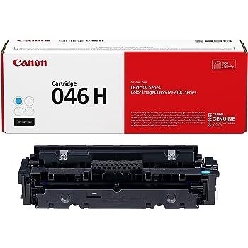 Canon Genuine Toner, Cartridge 046 Cyan, High Capacity (1253C001), 1 Pack, for Canon Color imageCLASS MF735Cdw, MF733Cdw, MF731Cdw, LBP654Cdw Laser Printers (046 H)