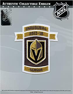 golden knights inaugural season patch