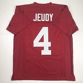 Unsigned Jerry Jeudy Alabama Crimson College Custom Stitched Football Jersey Size Men's XL New No Brands/Logos