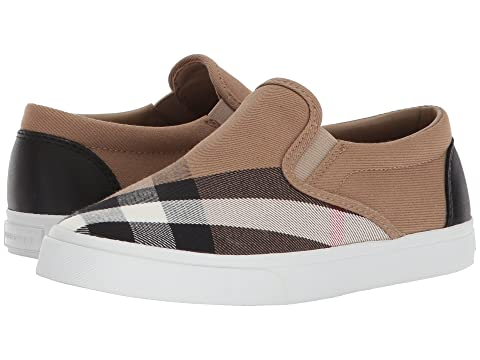 Burberry Kids Linus Check Trainer (Toddler/Little Kid)