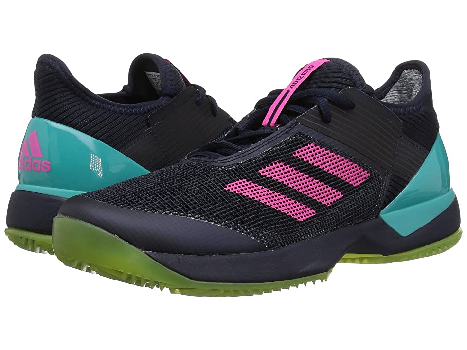 adidas Adizero Ubersonic 3 W Clay (Legend Ink/Shock Pink/Hi-Res Aqua) Women