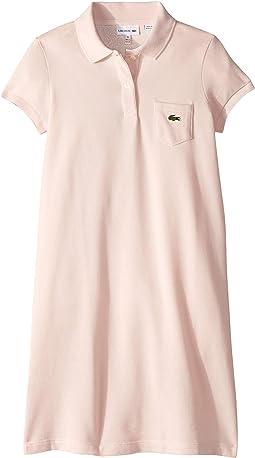 Classic Pique Dress with Pocket (Toddler/Little Kids/Big Kids)
