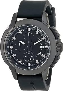 Ritmo Mundo Unisex 1151/1 Black Quantum Sport Quartz Chronograph Aluminum Accents Watch