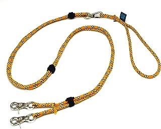 ドッグ・ギア ザイルリードタイプW ロープ径6mm 全長130cm オレンジ 「大切な愛犬を迷子犬にしないためのリードです」