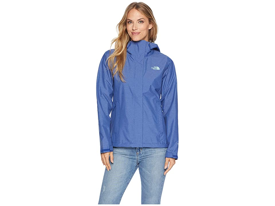 The North Face Venture 2 Jacket (Sodalite Blue Heather) Women