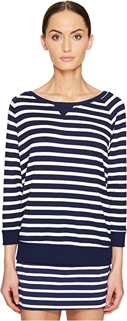 Kate Spade New York x Beyond Yoga - Modal Terry Cut Out Sweatshirt