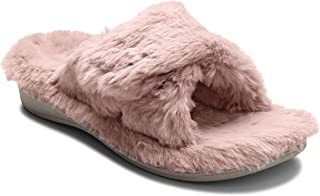 Women's Indulge Relax Plush Slipper - Adjustable Slipper with Concealed Orthotic Support