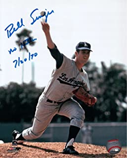 Bill Singer Signed 8X10 Photo