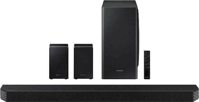 SAMSUNG HW-Q950T 9.1.4ch Soundbar with Dolby Atmos/ DTS:X and Alexa Built-in (2020), Black