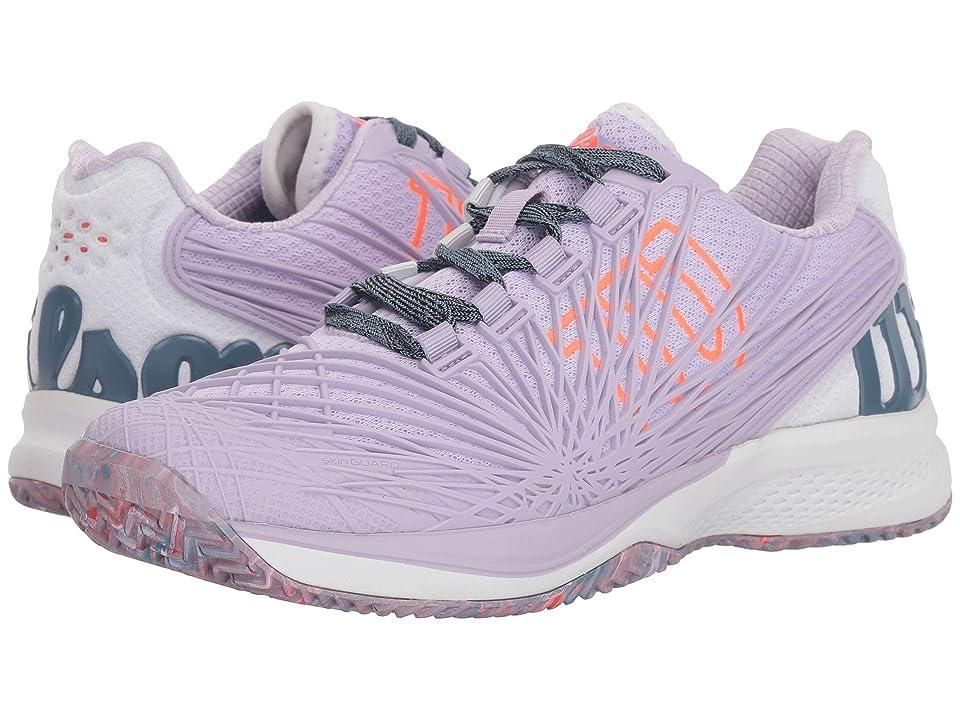 Wilson Kaos 2.0 (Lilac/White/Fiery Coral) Women