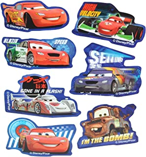 STICKER AUTOCOLLANT//POSTER A4 DISNEY FLASH MAC QUEEN.RACE CAR