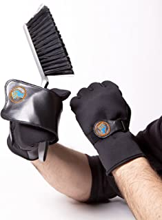Gripeeze Neoprene Garden Gloves with NEW wrap away system - polydot palms for added grip even when wet and double wrist support - Right Handed Pair (Medium)