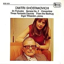 Shostakovich: 24 Preludes, Piano Sonata No. 2 & Concertino