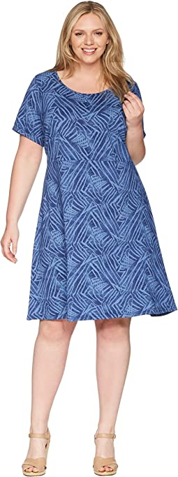 Plus Size Ocean Tide Sadie Dress
