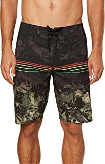 O'NEILL Men's Water Resistant Hyperfreak Stretch Swim Boardshorts, 20 Inch Outseam