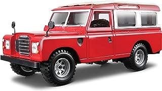 Bburago - Land Rover Series II, Color Rojo (18-22063)