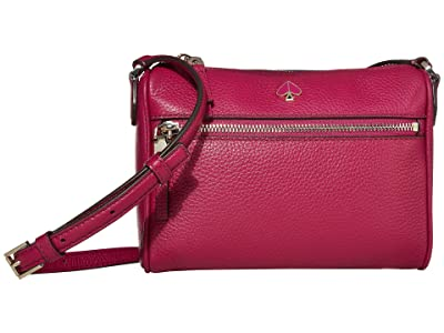 Kate Spade New York Polly Small Crossbody (Berry Blitz) Cross Body Handbags
