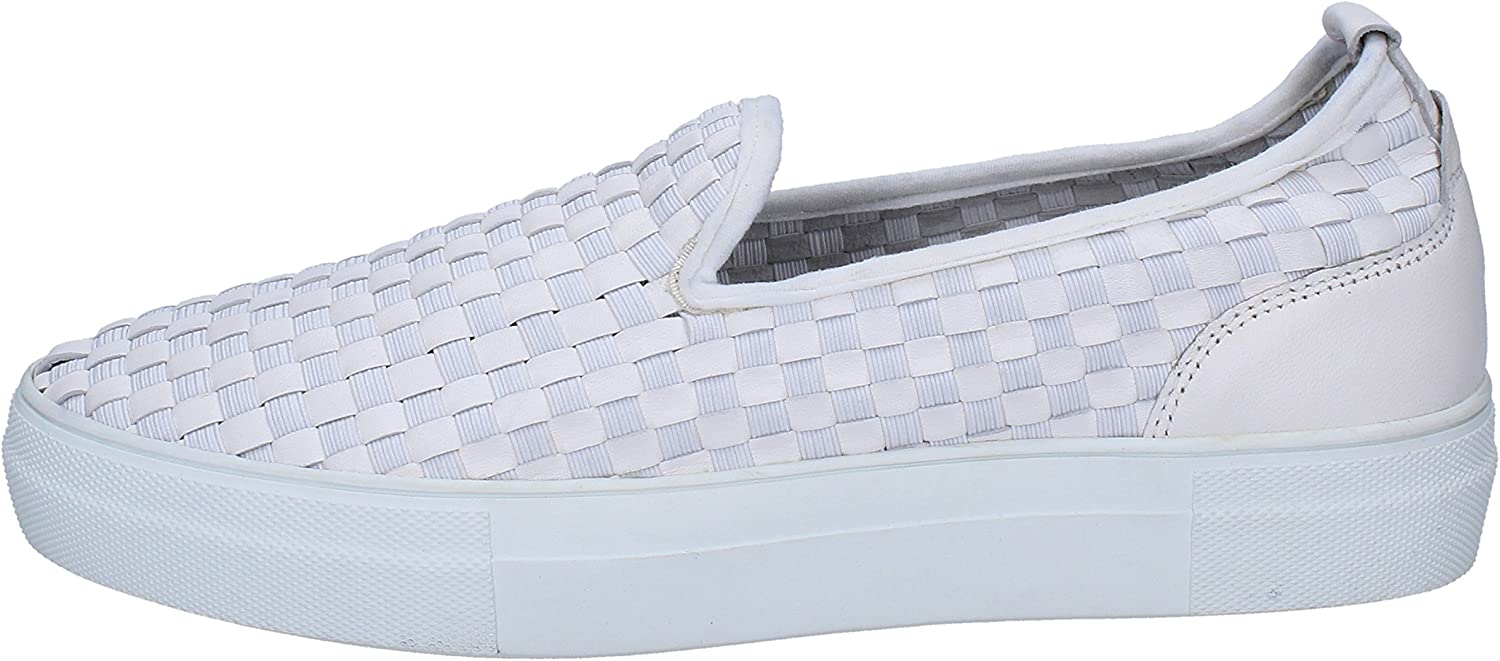 E...VEE Loafers-shoes Womens Leather White