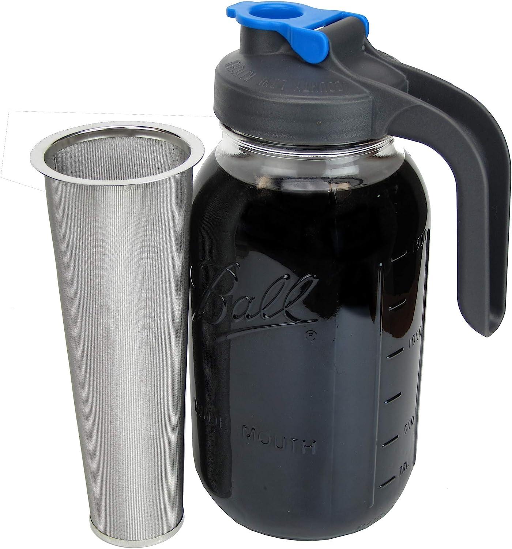 County Line Kitchen - Cold Brew Mason Jar Coffee Maker