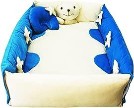 Amardeep Baby Bedding Set Cum Play Mat (Blue)