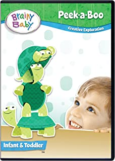Brainy Baby Peek A Boo Infant Creative Exploration