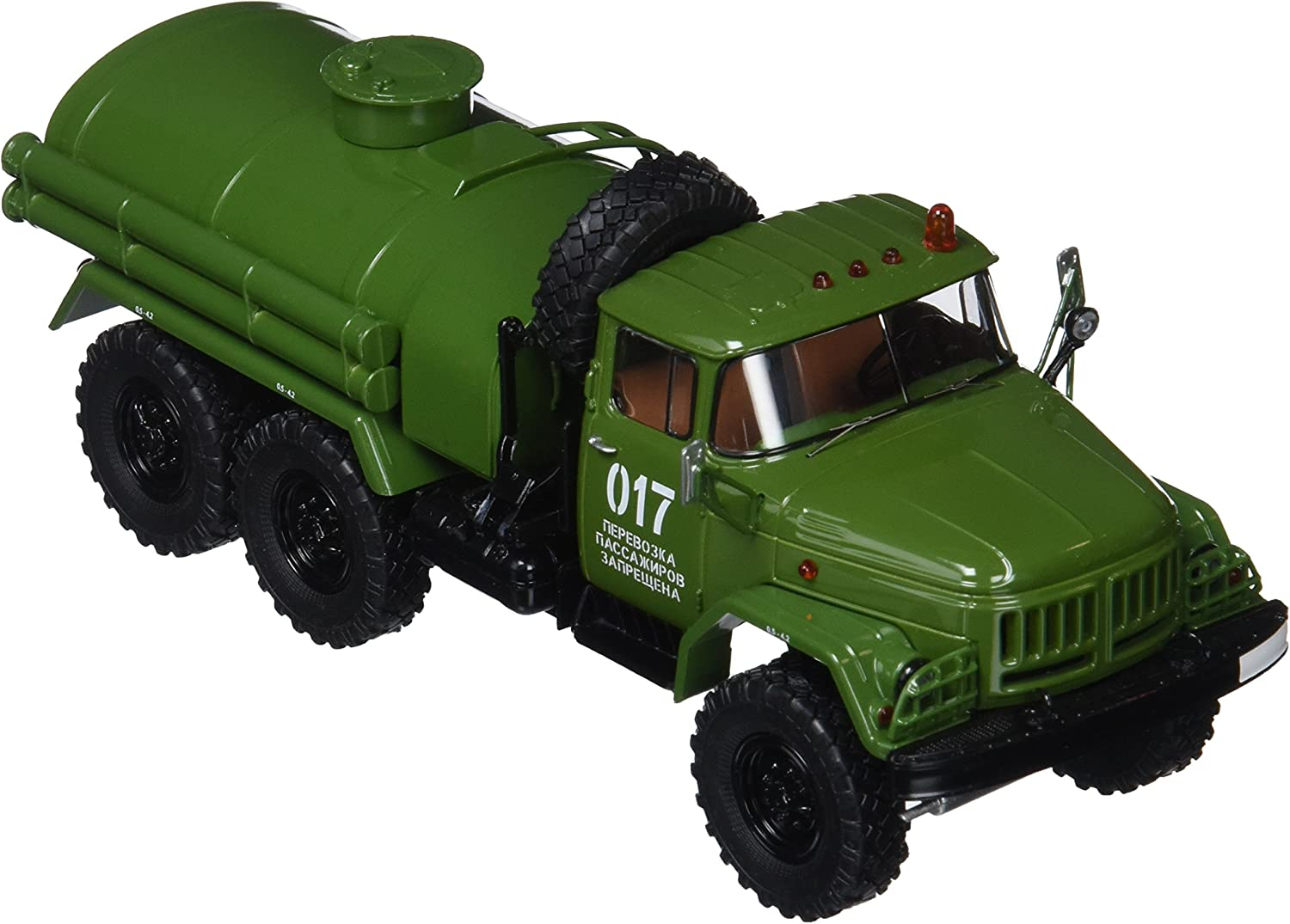 Start Camion 75Zil Ak Scale Voiture 164Bleu Grue Models 5Lj34AR