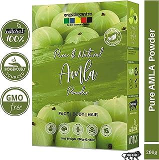 Organix Mantra Pure Amla Powder For Hair Growth 200 Grams