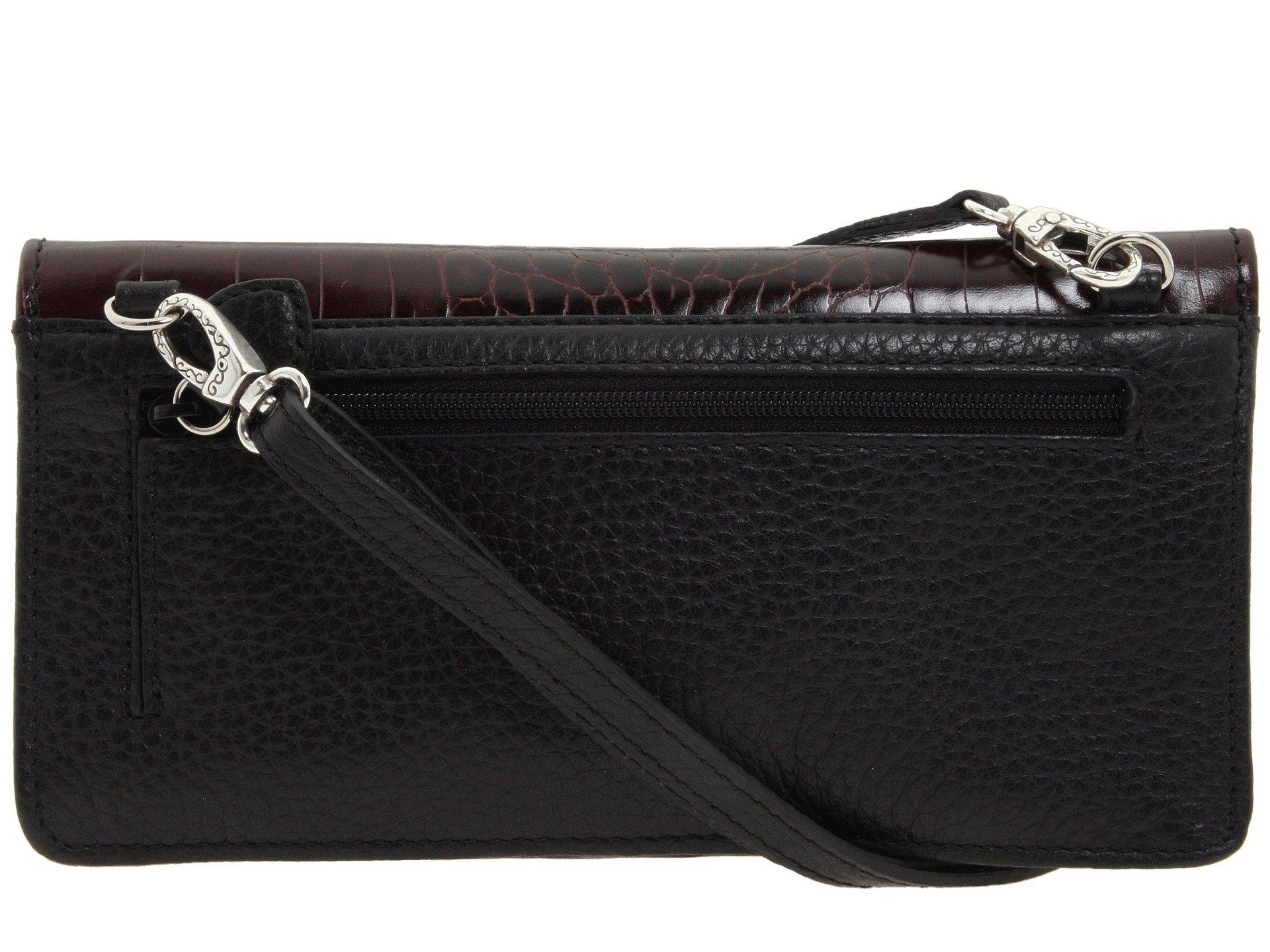 Luna Black chocolate Wallet Large Bella Brighton 5nwUqAx7BW