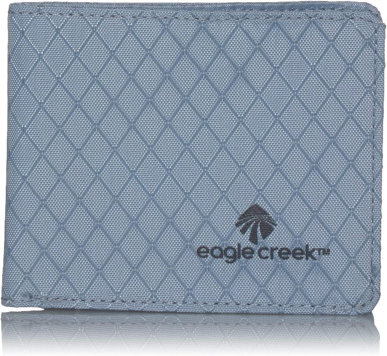 Eagle Creek Don't miss the campaign RFID Bi-Fold Wallet Arctic Size Blue Oklahoma City Mall One