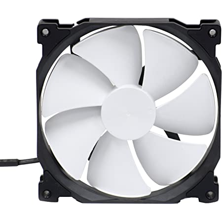 Phanteks 140mm, PWM, High Static Pressure Radiator Retail Cooling Fan PH-F140MP_BK_PWM,Black/White