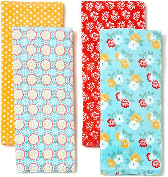 The Pioneer Woman Spring Floral Kitchen Towel Set